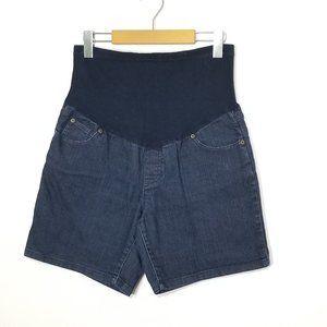 George   Full Panel Maternity Jean Shorts …